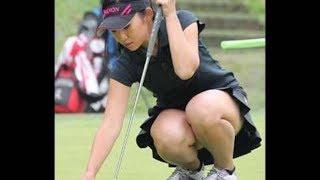 【ゴルフ】壇蜜に似てると話題の美人ゴルファー宮田志乃【スイング】