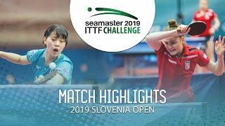 Miyu Nagasaki vs Andrea Pavlovic | 2019 ITTF Challenge Slovenia Open (U21-R32)