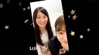 上西恵 門脇佳奈子 インスタグラム ライブ 2019-02-24