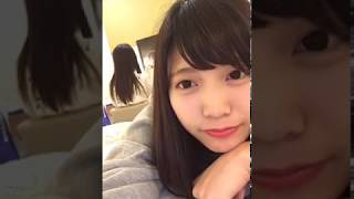2017.09.24 Twitterライブ配信の録画 松下玲緒菜 宮内凛