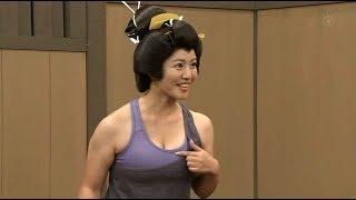 磯山さやかさんのフラフープ (201210)