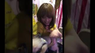 시노자키 아이 しのざきあい  篠崎愛 Shinozaki Ai   애견과의 사투영상