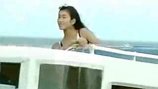 三瀬真美子水着 マリン