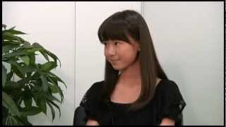 籠谷さくら 第13回全日本国民的美少女コンテストインタビュー動画