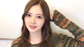 【乃木坂46】のぎおび  白石麻衣  2019/11/27(水)