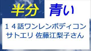 半分青い 14話 サトエリ佐藤江梨子さん登場 テーマパーク建設へ