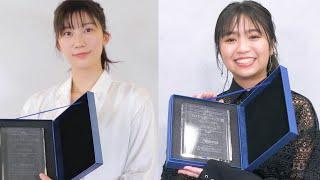 小倉優香&大原優乃、第6回カバーガール大賞受賞に喜びの声