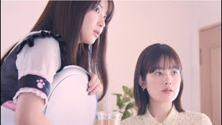 筧美和子&木下彩音、美女2人が和田アキ子に変身!/「放置少女」TVCM第3弾『Strong Woman』メイキング映像