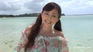 【写真】杉原杏璃:海边度假写真1