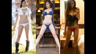 片山萌美- 美足長腿2019…Moemi Katayama sexy legs footage 2019