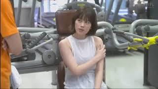筧美和子がジムで一生懸命運動しているだけ