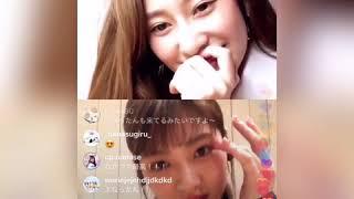 桜井玲香 若月佑美 インスタライブ 2020年5月16日