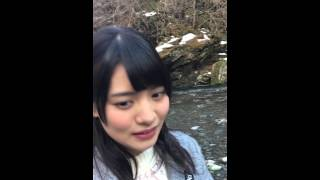 【絶景告白】(タテ動画)三十槌の氷柱×松永有紗③