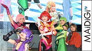 元NMB48・上西恵、「キューティーハニー」主題歌でキレキレ&セクシーダンス! 「でんぱ組.inc」鹿目凛、矢倉楓子も
