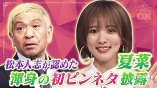 夏菜 ピンネタ (ダウンタウンDX)