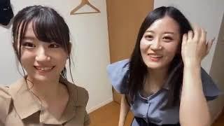 NMB48 上西怜 上西恵(姉)に振り入れしてみた 200829