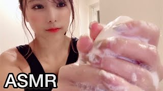 【ASMR】音を楽しむ正しい手洗い【音フェチ】hand washing to enjoy the sound.