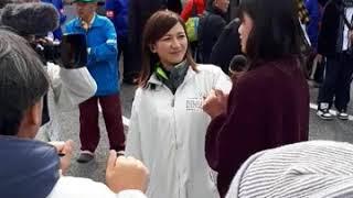 旭化成キャンペーンガール、北向未夕さん。