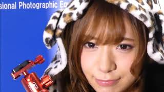 【CP+】SIRUIブースのモデル星島沙也加さん