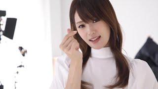 深田恭子、「どっちがいいかなぁ…」と迷う仕草もカワイイ! 「メナード フェイシャルサロン」新CM『化粧品に出逢う』篇、メイキング&インタビュー
