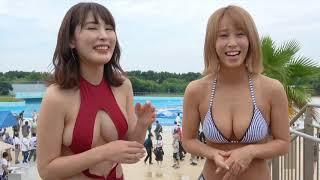 水着紹介犬童美乃梨×金子智美(大人限定‼︎18禁グラドル)