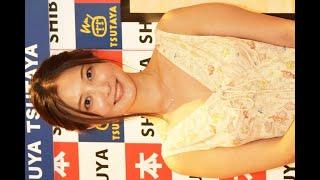 ✅  モデルでタレントの大石絵理が29日、都内でファースト写真集「honey」の発売記念イベントを開催した。