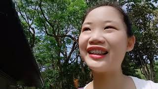 vlog14/ 猴子不要出現啦  孔雀朵朵開 跟著miyu旅行vlog