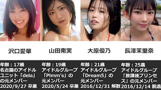元アイドルのえちえちグラビアタレント12選