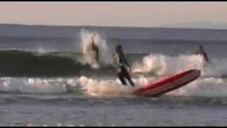 鵠沼海岸 ロングボード・サーフィン・ライダー:戸井田雅秋