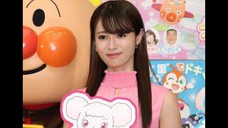 ✅  女優の深田恭子さんが12日、東京都内で行われた劇場版アニメ「それいけ!アンパンマン ふわふわフワリーと雲の国」(川越淳監督、6月25日公開)の公開アフレコイベントに出席。アンパンマンが子供たちの