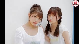 😂松下玲緒菜&宮内凛 Reona Matsushita & Rin Miyauchi
