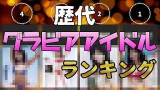 歴代グラビアアイドルランキングTOP30