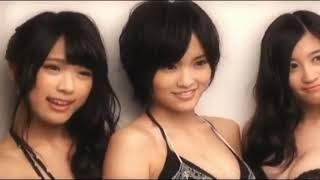 山本彩 上西恵  渋谷凪   セクシー下着 ♪夢見るシャンソン人形♪ 日本語~フランス語