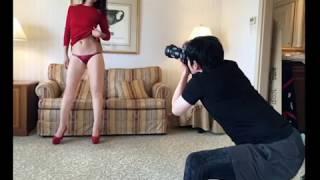 「パジャマ姿や黒の下着」本郷杏奈を今田耕司がホテルで撮影