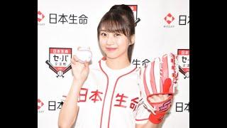 ニュース –  モー娘。牧野真莉愛、5度目の始球式で広がる夢「メジャーリーグでも投げたい!」