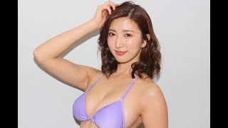 【松嶋えいみ】グラビア応援隊📣 ぷるぷるバージョン👙揺らしてますよ〜!