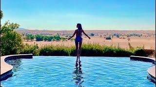 【vlog】ドバイ旅行で3食無料のプール付きホテル【アルハマドバイ】