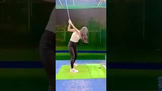 鈴木ふみ奈公式チャンネル  Golf #Shorts