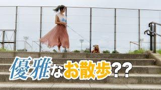【アイドル失格】ワンちゃん可愛すぎてキャラ崩壊しまくる【4K】