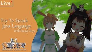 [Journey 28] Piye Kabare Ndes? Try Speak Java Language with Amaya Miyu [コラボ配信VtuberID]