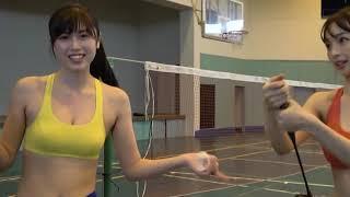 Asuka Hanamura and Miyu Kitamuki (華村あすか and 北向珠夕)-Cute Japanese Girls in Action 1080p