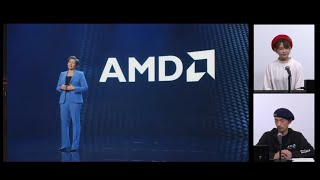 AMD HEROES WORLD #69 NEW YEAR  1ST  LIVE -CES 2021 チェック-