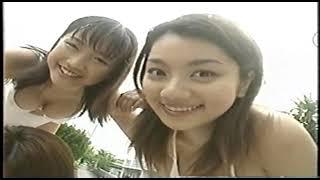 イエローキャブ5人娘(佐藤江梨子、川村亜紀、松岡ゆき、坂井優美、小池栄子)白いビギニの水着の動画